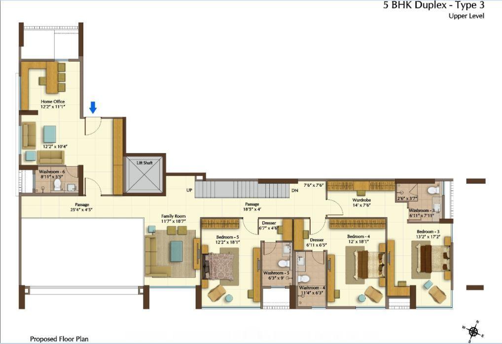 Peninsula heights 3 & 4 Bedroom Apartments JP Nagar Bangalore