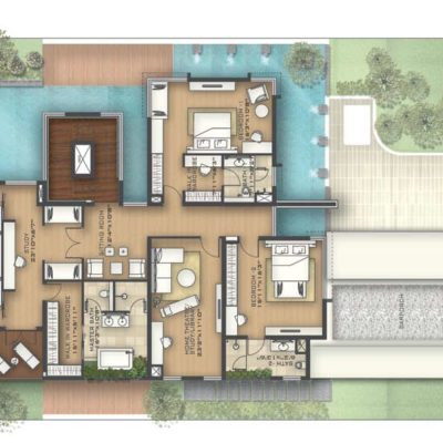 prestige-golfshire-Beaumont-golf-villa-bedroom-plans