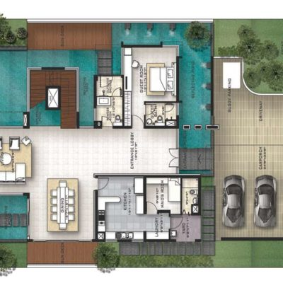 prestige-golfshire-Beaumont-golf-villa-plans
