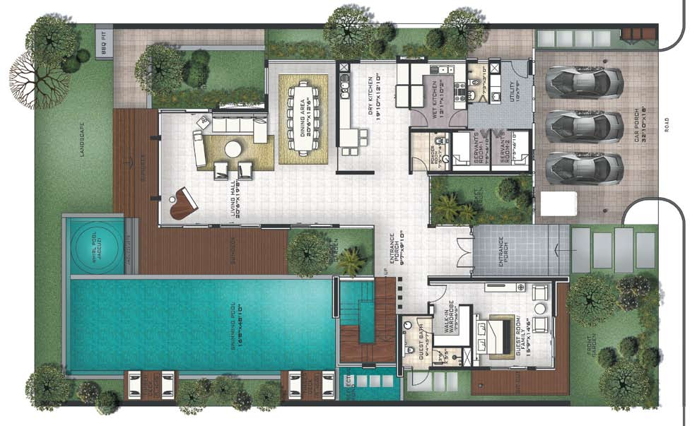 City Apartment Layout Fantasy Floorplan For Friends