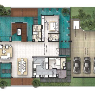 prestige-golfshire-burbank-villa-plan