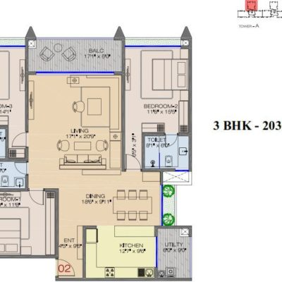 raheja-pebble-bay-koramangala-floor-plans