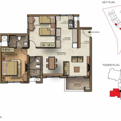 brigade-lakefront-2-bhk-floor-plans