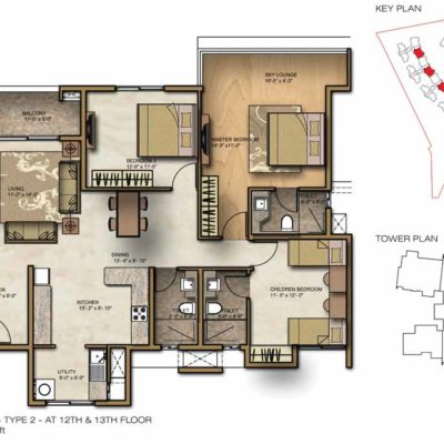 brigade-lakefront-3-bhk-floor-plans