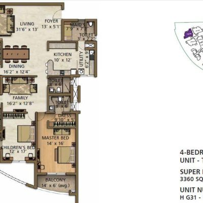 brigade-lakefront-4-bedroom-plan