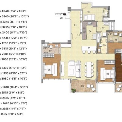 g-corp-residences-4bhk-plan