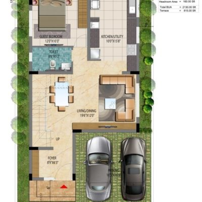 Address Makers Lake View 30x50 Villa Plot