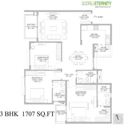 godrej-eternity-3-bedroom-plan