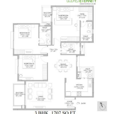 godrej-eternity-kanakapura-floor-plan