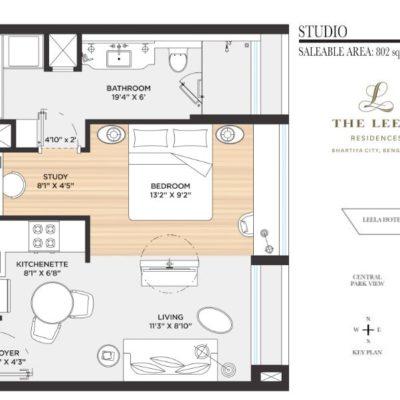 the-leela-residences-bhartiya-city-floor-plan