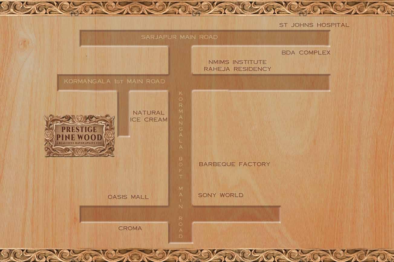 Prestige Pine Wood 2 3 Amp 4 Bedroom Apartments Koramangala