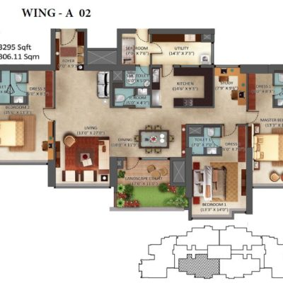 mantri-centrium-floor-plans