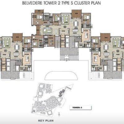 Prestige White Meadows Tower Plan