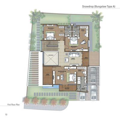 Prestige White Meadows Villa Ground Floor Plan