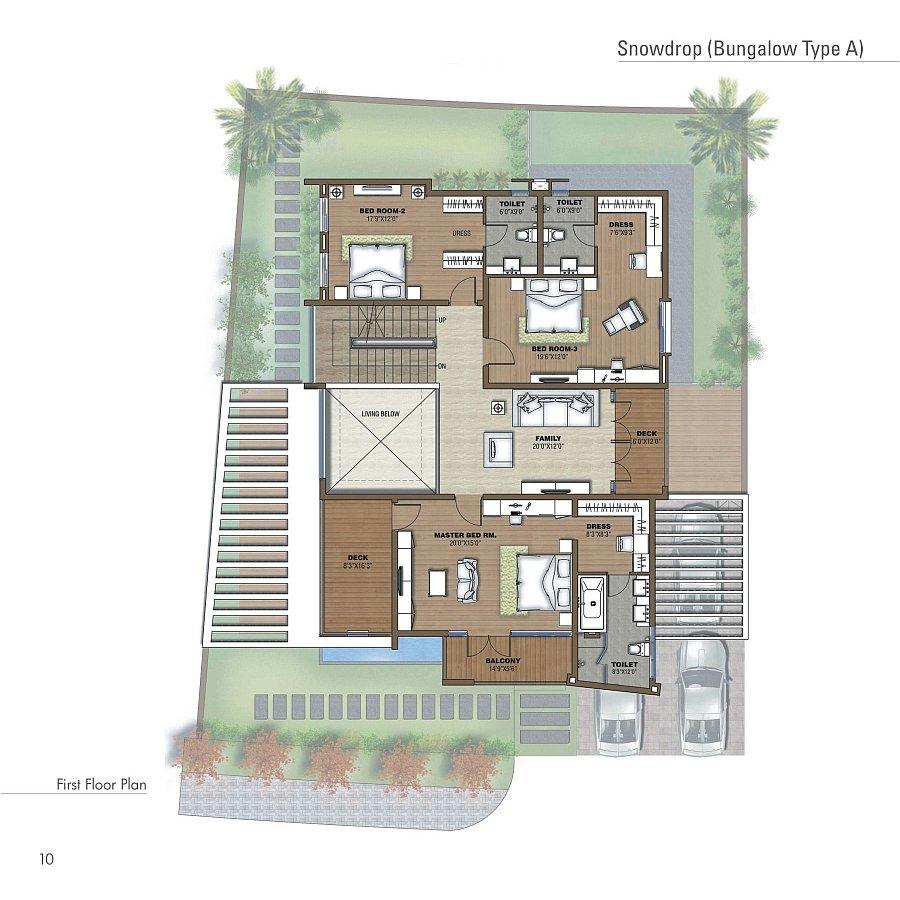 Prestige white meadows villas apartments whitefield for Apartment villa design