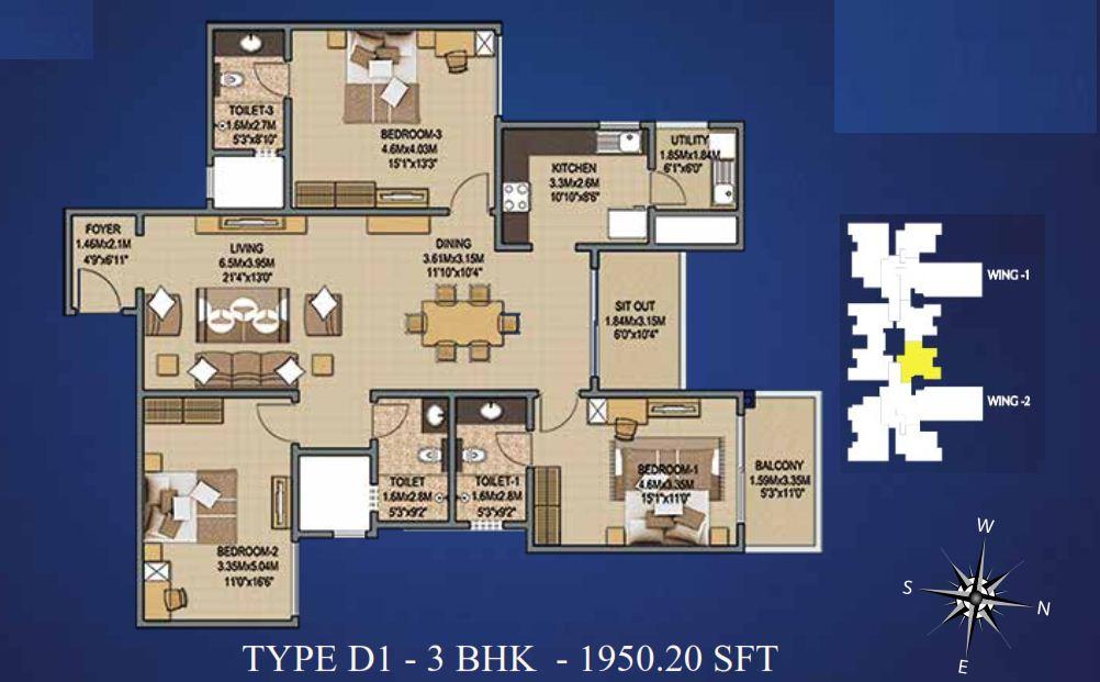 Sobha Indraprastha 3 & 4 BHK Apartments Bangalore