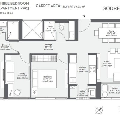 godrej-origins-3-bedroom-the-trees-floor-plans