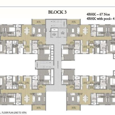sobha-hrc-pristine-4-bedroom-price