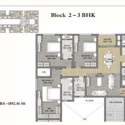 sobha-hrc-pristine-bangalore-floor-plan