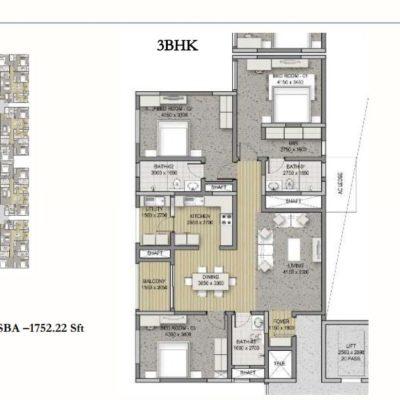 sobha-hrc-pristine-floor-plan