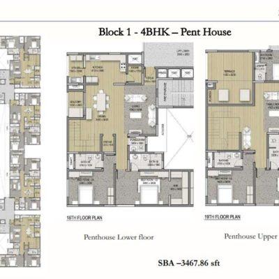 sobha-hrc-pristine-penthouse-floor-plan