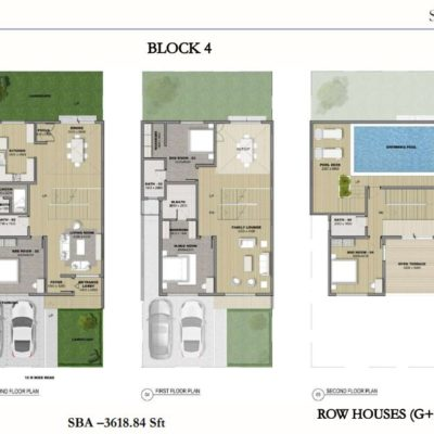 sobha-hrc-pristine-row-house-floor-plan