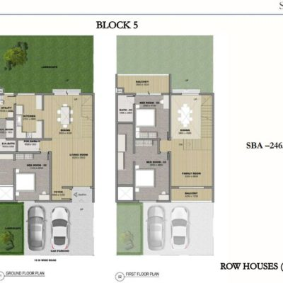 sobha-hrc-pristine-row-house-villa-plan