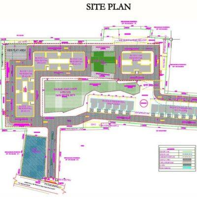 sobha-hrc-pristine-site-plan