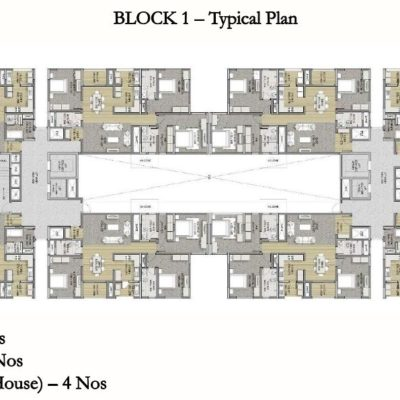 sobha-hrc-pristine-tower-layout-plan