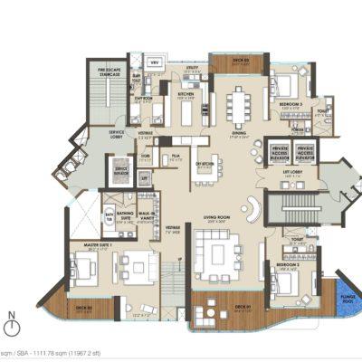 phoenix-kessaku-mizu-duplex-floor-plan