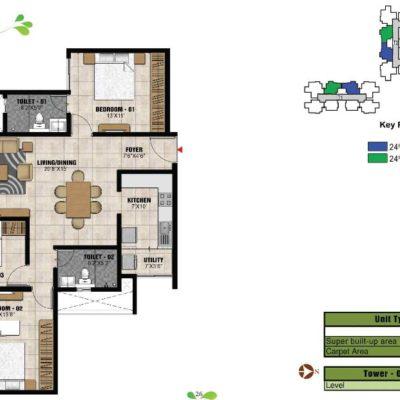 prestige-park-square-3-bhk-floor-plan