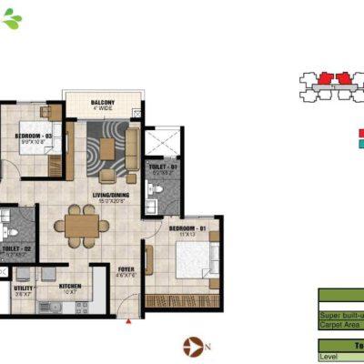 prestige-park-square-floor-plans