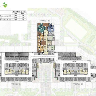 prestige-park-square-tower-2-key-plan