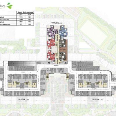 prestige-park-square-tower-plan