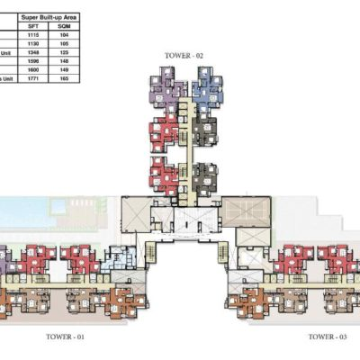 prestige-park-square-tower-plans