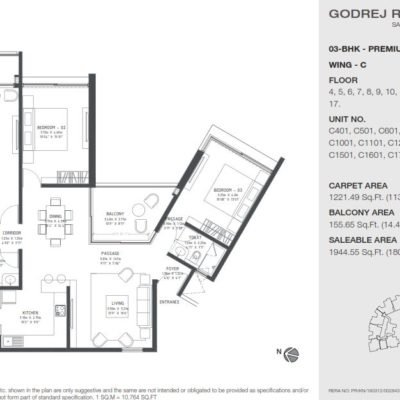 godrej-reflections-harlur-plans
