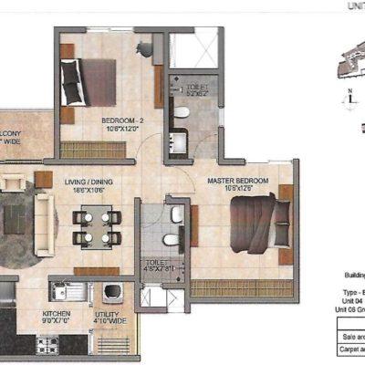 prestige-jindal-city-floor-plan