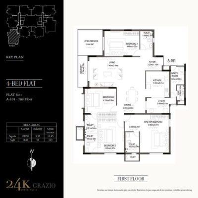 kolte-patil-24k-grazio-koramangala-floor-plans