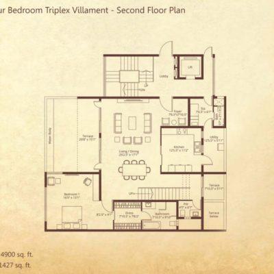 embassy-grove-triplex-villa-plan