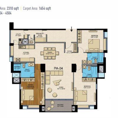 cntc-golden-gate-presidential-tower-floor-plan