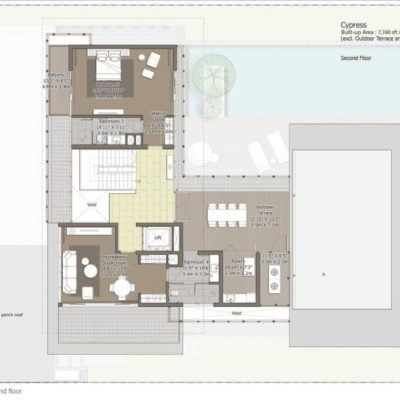 Cypress-Second Floor Plan