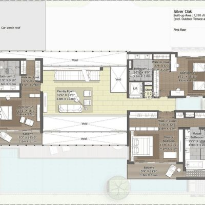 silveroak-First Floor Plan