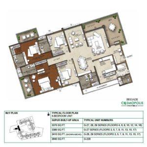 4-Bedroom -Floor-Plan