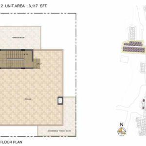 Arista-Type 2-villa Terrace floor plan