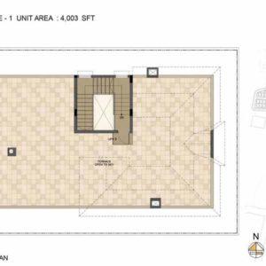 Baylene -Type 1-villa Terrace floor plan