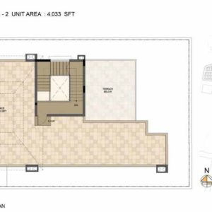 Baylene -Type 2-villa Terrace floor plan