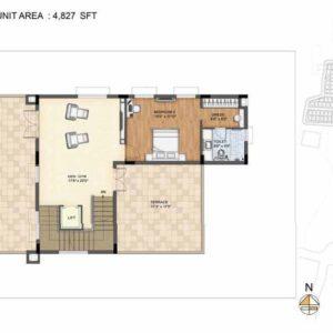 Clara-Type 2-villa Second Floor plan