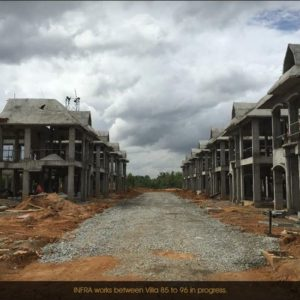 Development of Prestige Lakeside Habitat villas
