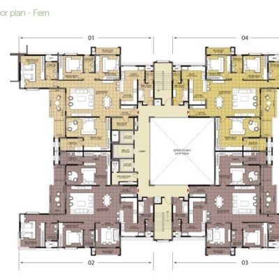 Fern Typical Floor Plan