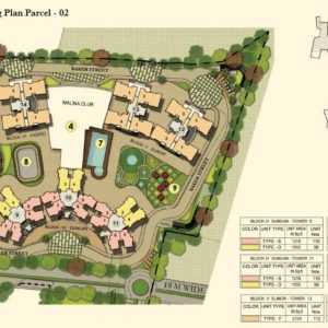Numbering Plan Parcel - 02- Prestige Lakeside Habitat